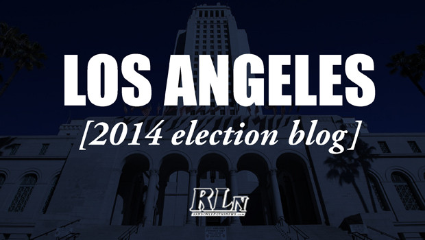 Los Angeles 2014 Election Blog