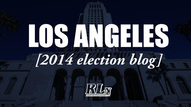 Los Angeles 2014 Election Blog