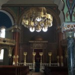 Inside the Sephardic Temple in Sofia