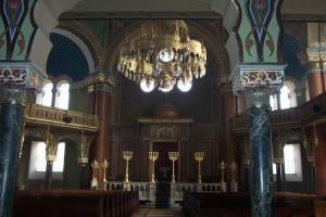Inside the Sephardic Temple in Sofia