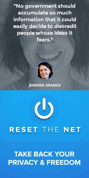 Reset The Net: Protect Your Privacy