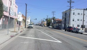 Pacific Avenue, Road Diet
