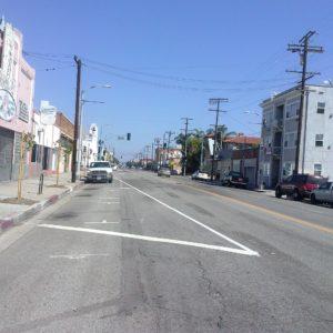 Pacific Avenue, Road Diet