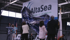 Community leaders unveiled the  AltaSea name and logo in late 2013.  File photo.