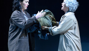 Stewart (Therese) and Hanson (Lisette). Photo by Keith Ian Polakoff