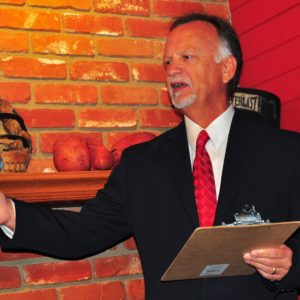 Daryl Supernaw thanked his constituents who elected him as the next District 4 councilman.  Photo by Diana Lejins