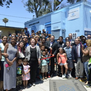 The Harbor Gateway Boys & Girls Club and Council District 15 hosted the reopening and ribbon-cutting of the Cheryl Green Center, June 8, at Harbor Gateway. Photo by Betty Guevara.