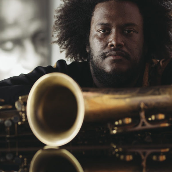 Kamasi Washington. Courtesy photo of  Janice Wang of Atom Factory.