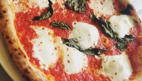 Margherita Pizza. Photo by Tommy Kishimoto