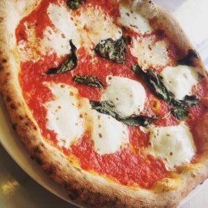 Margherita Pizza. Photo by Tommy Kishimoto