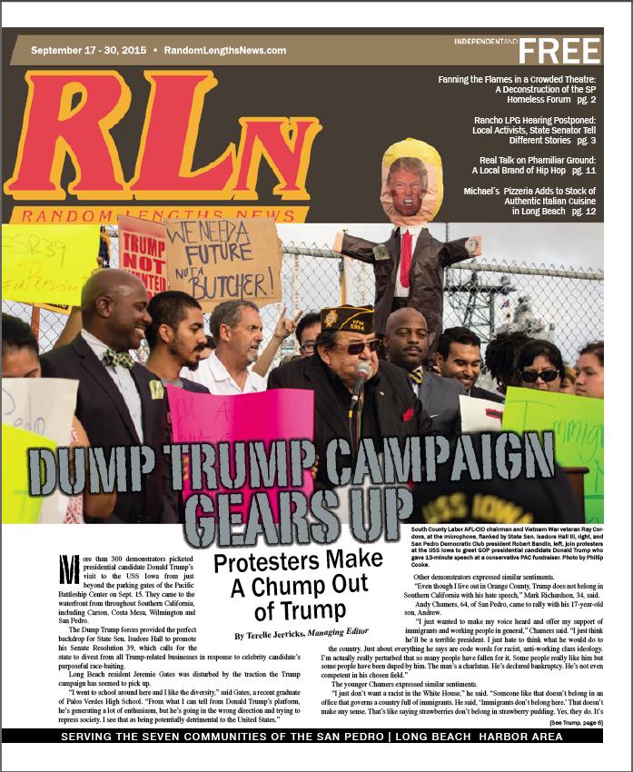 September 17 2015 Random Lengths News cover