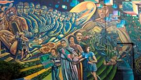 Ruben Salazar Park mural