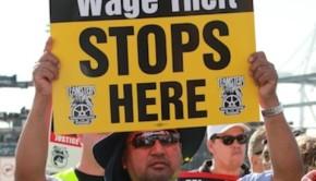 Trucker Sign