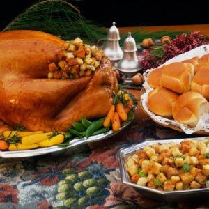 Thanksgiving, Dinner, Turkey