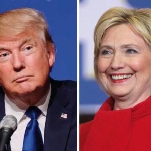 Donald Trump, Hillary Clinton