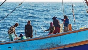 EJF's investigation into human trafficking in Thailand's fishing industry in January/February 2014