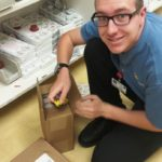 San Pedro resident Tyler Zuieback recently graduated from Kaiser Permanente South Bay Medical Center's Project SEARCH, an internship program for people with intellectual developmental disabilities.