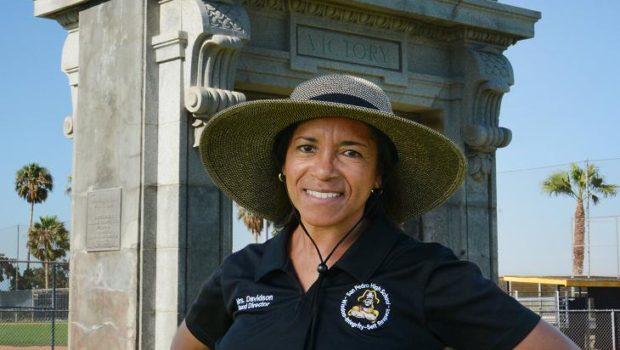 San Pedro High School Band Director, Darnella Davidson