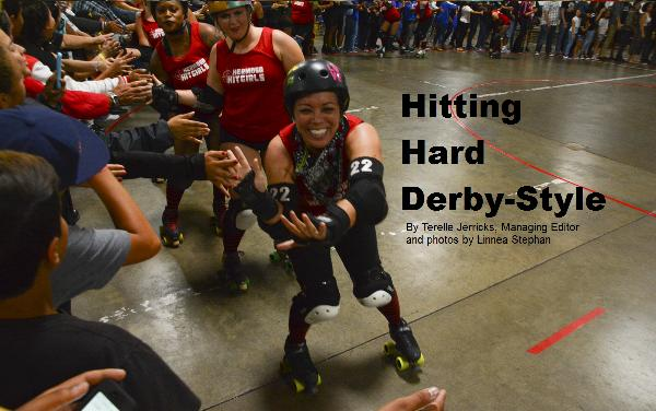 Today's Roller Derby bouts bear little resemblance to 1970s films like Kansas City Bombers or Unholy Rollers. That's partly due to rule changes since that time. The other reason for it is the people the sport represents are more diverse than it was back then.