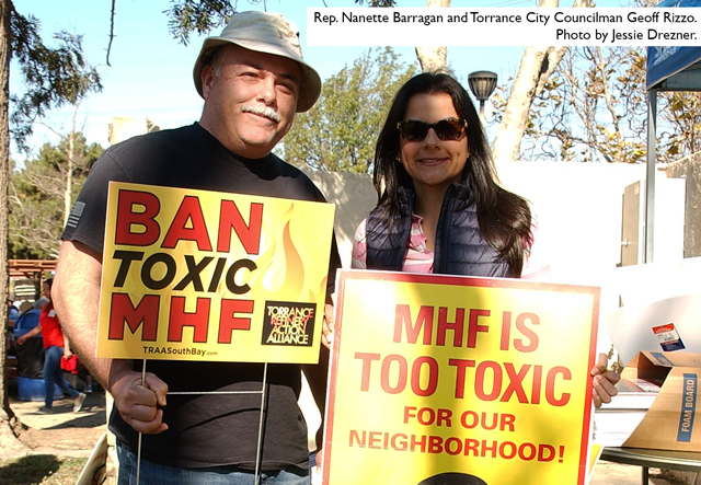 Rep. Nanette Barragan, Torrance Refinery Action Alliance