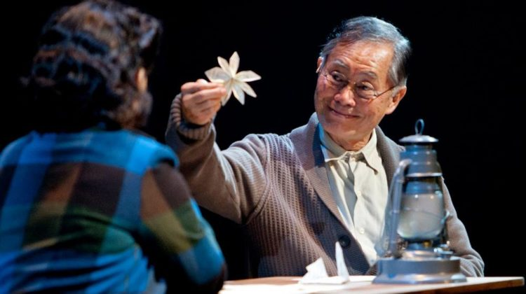 George Takei, in Allegiance, the musical