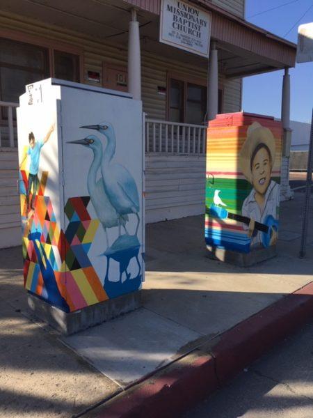 Luis Sanchez DOT Boxes on Harbor and 1st Street