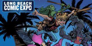 Long Beach Comic Expo Flyer