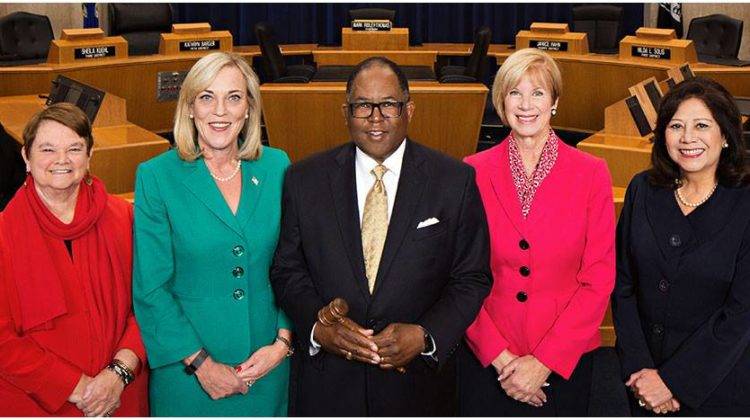 picture of L.A. Board of Supervisors