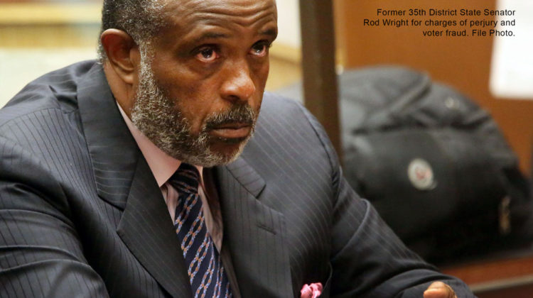 Former 35th District State Senator Rod Wright for charges of perjury and voter fraud. File photo