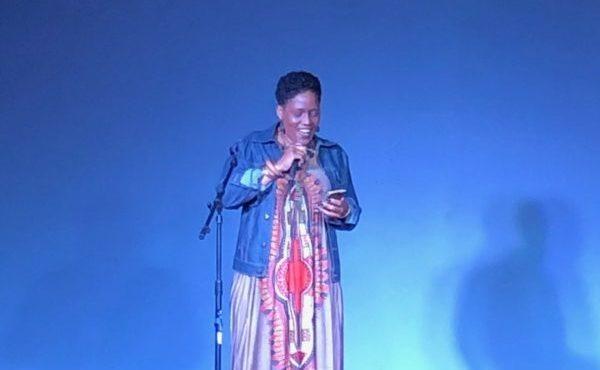 Storyteller, Tasha Hunter speaks at MADE storytellers Making meaningful Connections